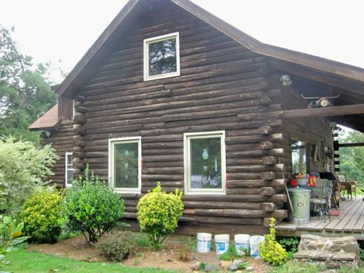 Ironwood Log Home Restoration & Finishing