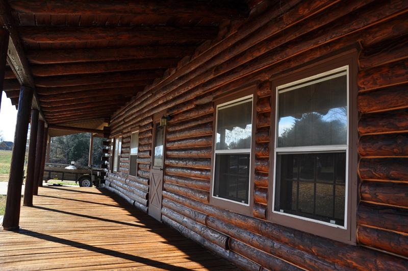 Cabin Restoration Finishing
